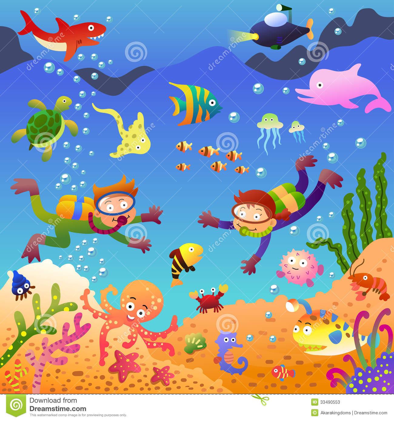 Under sea clipart vector free download 9+ Under The Sea Clipart | ClipartLook vector free download