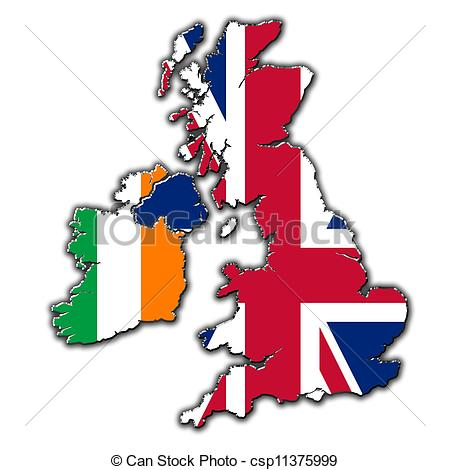 Map ireland england britain. Clipart united kingdom