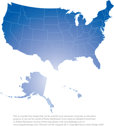 Clipart united states. Map for powerpoint