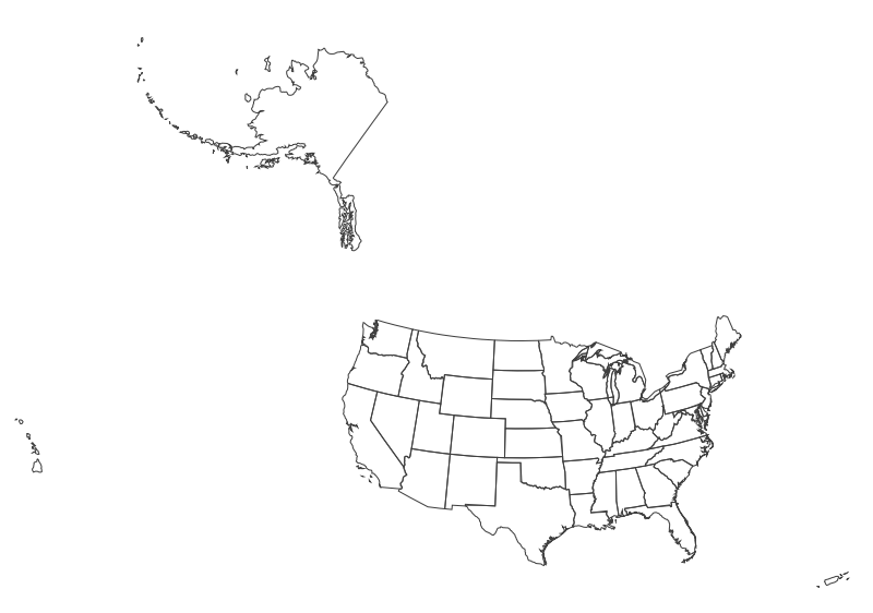 Clipart united states map clip stock Clipart United States Map With US Map With Cities Small Map Of ... clip stock