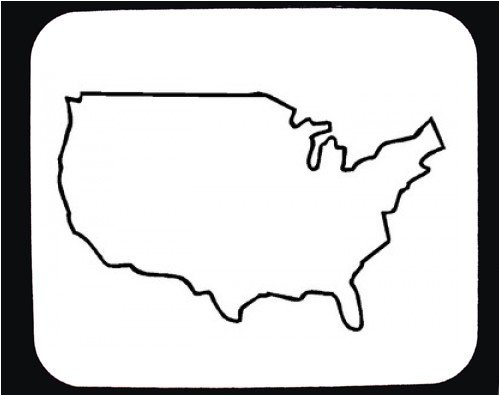 Clipart united states outline. Clip art best us