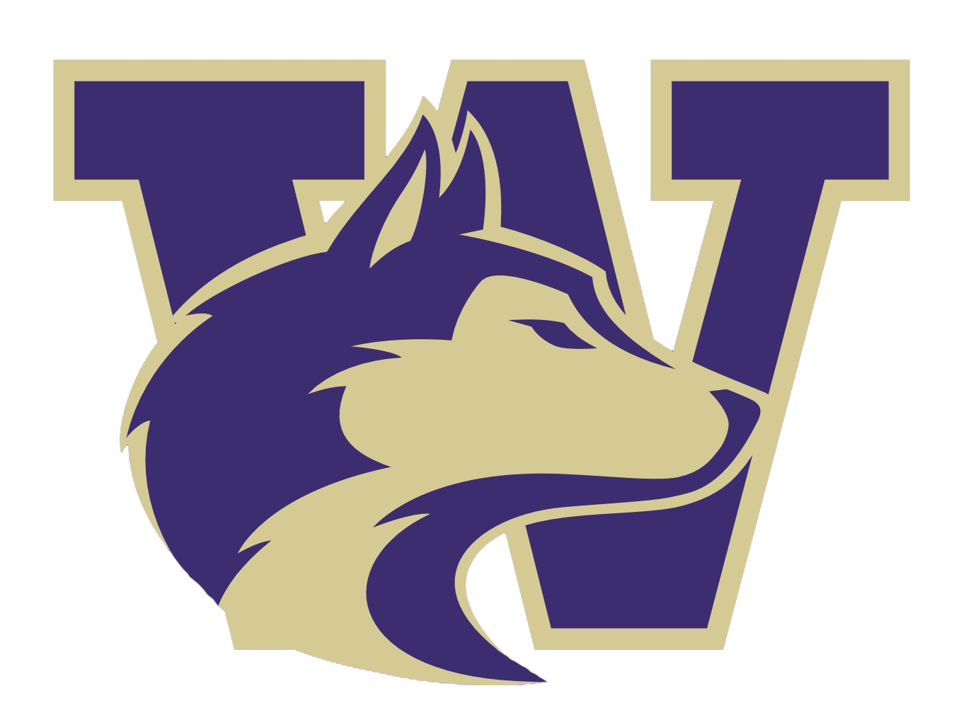 Clipart university of washington football picture black and white uw husky clipart - Clipground picture black and white