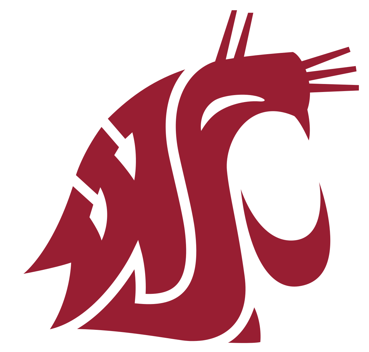 Twin valley football clipart vector royalty free download Washington State Cougars - Wikipedia vector royalty free download