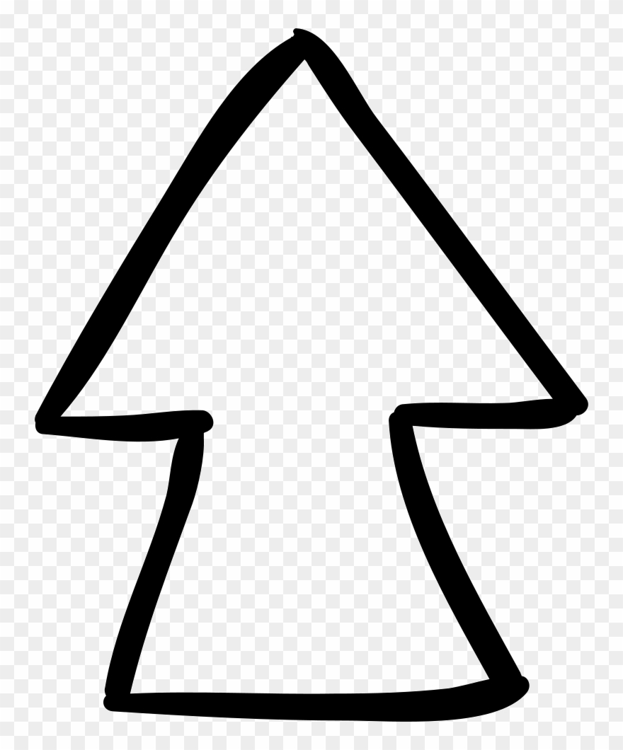 Clipart up arrow image black and white Up Arrow Comments - Arrow Up For Coloring Clipart (#1304095 ... image black and white