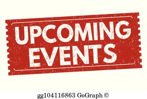 Upcoming events clipart png stock Upcoming Events Clip Art - Royalty Free - GoGraph png stock