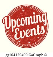 Upcoming events clipart image free library Upcoming Events Clip Art - Royalty Free - GoGraph image free library