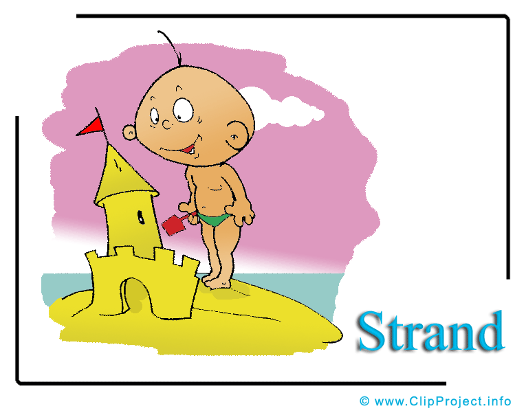 Clipart urlaub kostenlos royalty free stock Strand Cartoon Clipart Urlaub royalty free stock