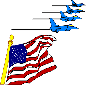 Clipart us banner transparent stock American Flag Clipart - Free USA Graphics banner transparent stock