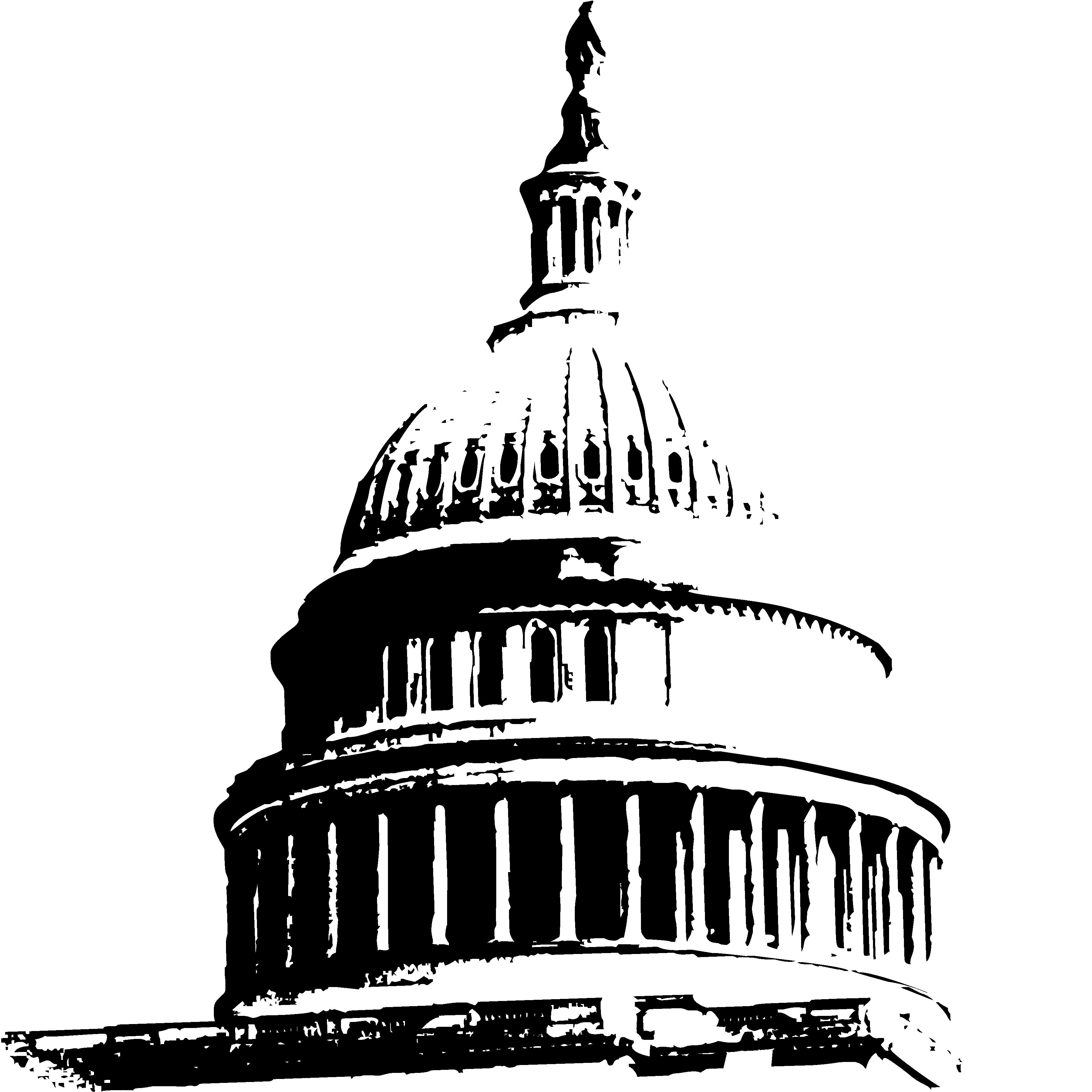 Clipart us capitol building jpg freeuse download Us capitol dome clipart - ClipartFest jpg freeuse download