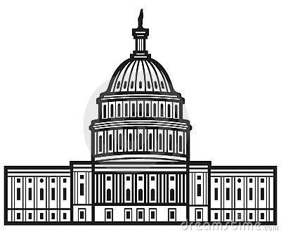 Clipart us capitol building clip art black and white download Capitol hill clipart - ClipartFox clip art black and white download