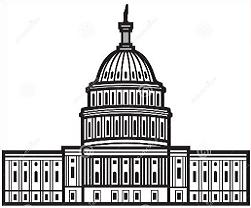 Clipart us capitol building vector transparent download Free US Capitol Building Clipart vector transparent download