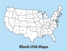 Clipart us map free vector free library Royalty Free US and World Map • Printable, Clip Art Maps You Can ... vector free library