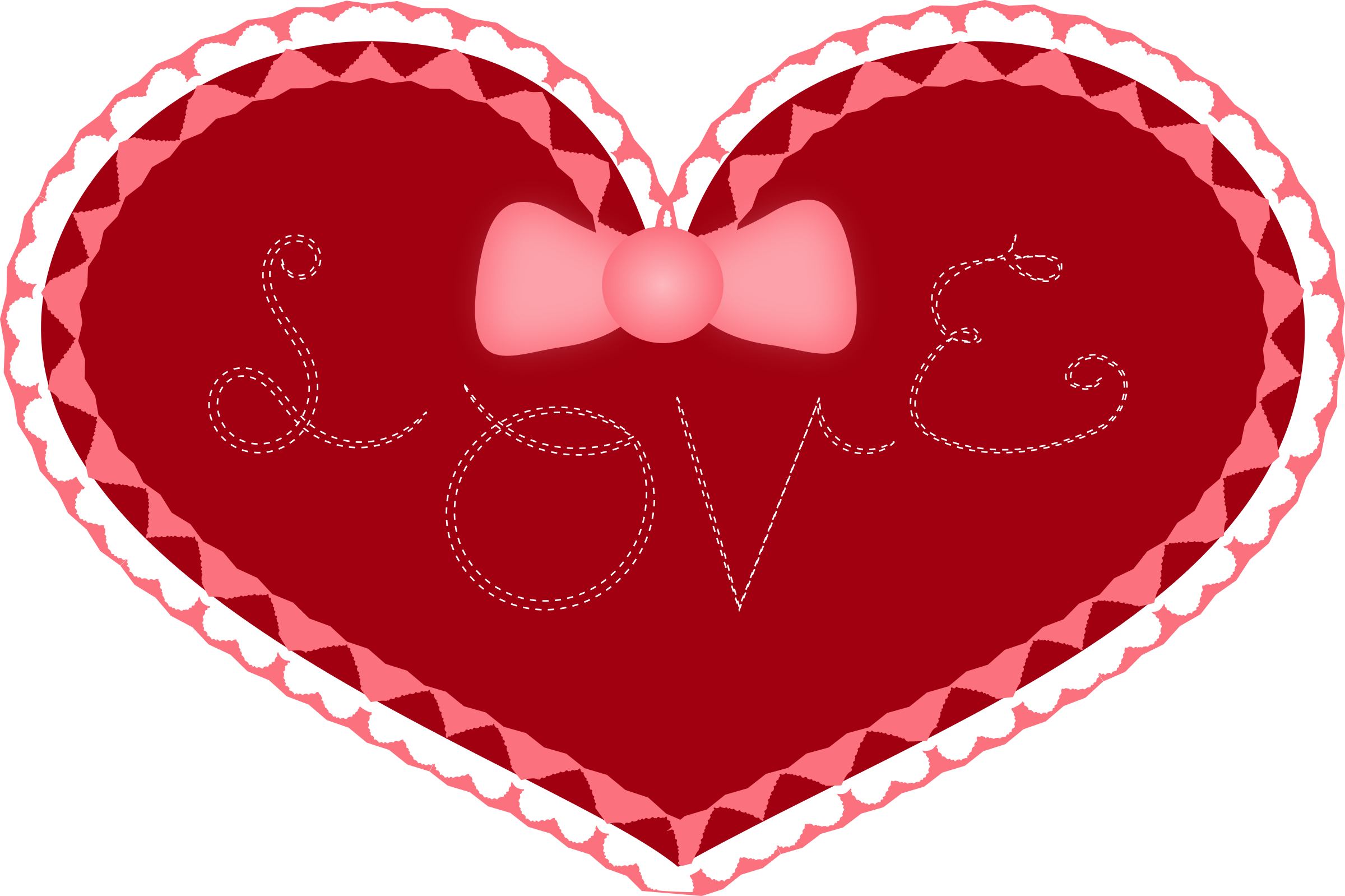 Clipart valentine heart svg freeuse library Clipart - Valentine's Day Heart svg freeuse library