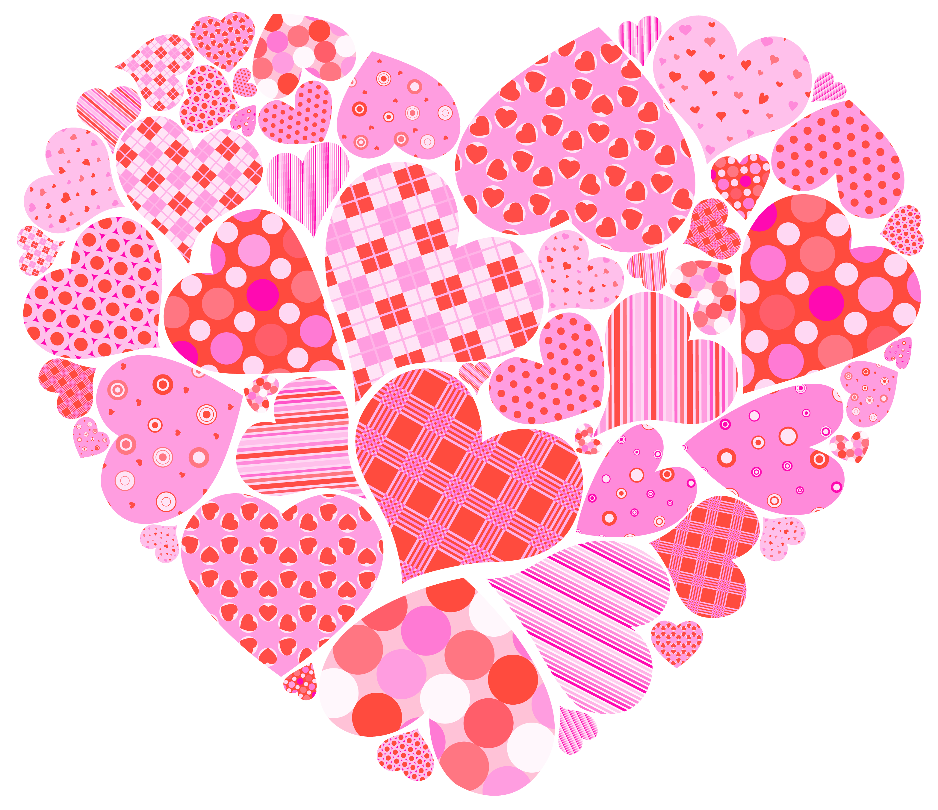 Clipart valentines day hearts vector free library Valentines Day Heart of Hearts PNG Clipart Picture | Gallery ... vector free library