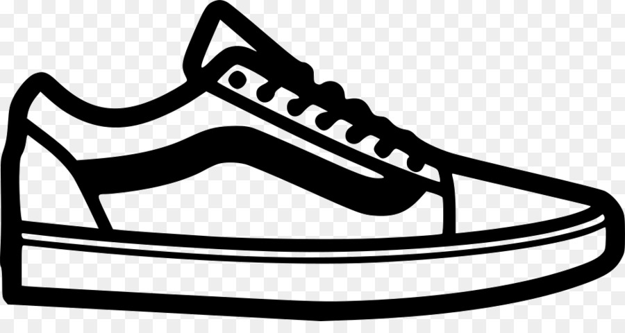 Skateboard shoes clipart clip black and white stock Vans Logo png download - 980*504 - Free Transparent Vans png Download. clip black and white stock