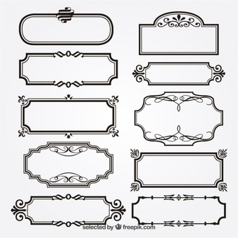 Border vectors photos and. Clipart vector free download