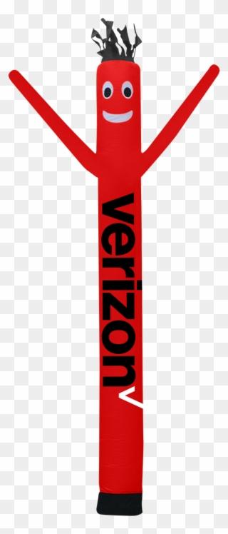 Clipart verizon graphic freeuse stock Verizon Wireless Air Dancer 6ft - Air Dancer Clipart (#3286572 ... graphic freeuse stock