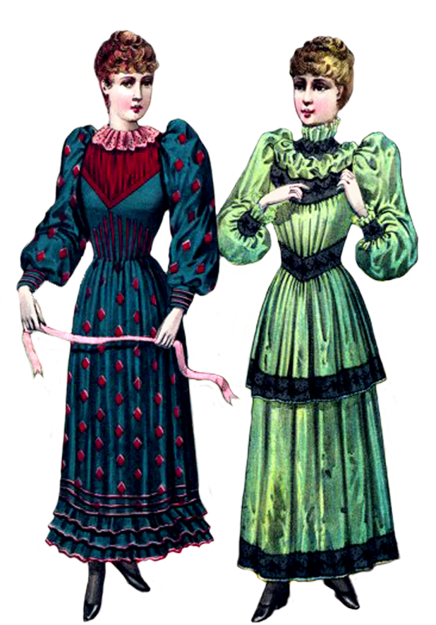 Clipart victorian women png stock Victorian Clipart png stock