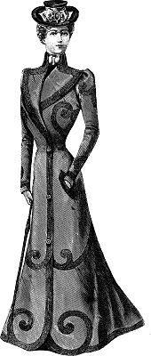 Clipart victorian women vector library stock Victorian women clipart » Clipart Portal vector library stock