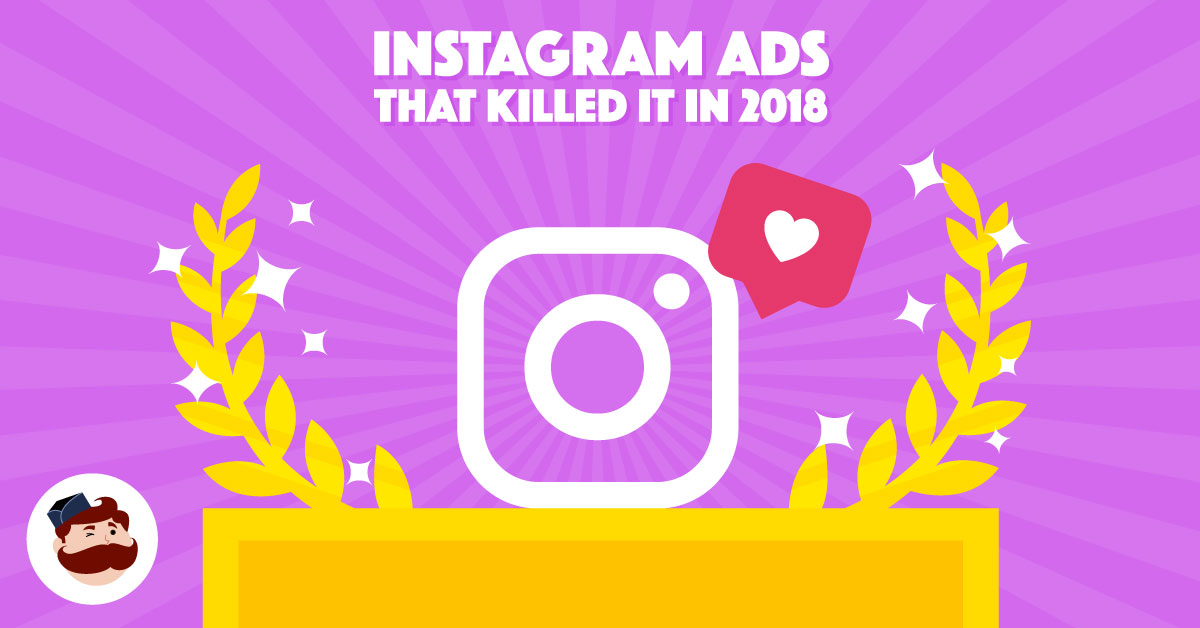 Clipart video clip 2018 vector library stock The 10 Best Instagram Ads That Killed It In 2018 vector library stock