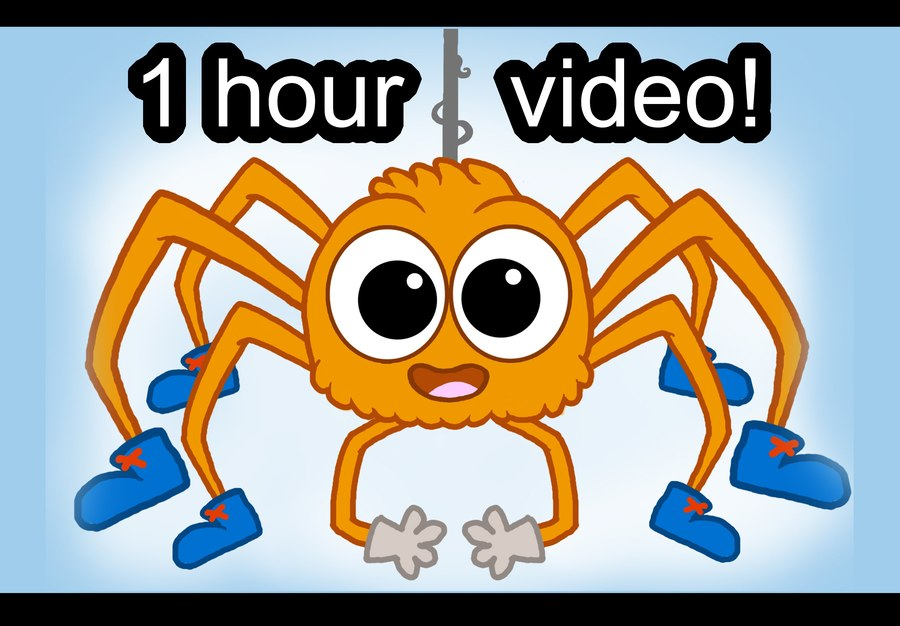 Clipart video song download image black and white stock Download spider song clipart Itsy Bitsy Spider Video Song | Video ... image black and white stock