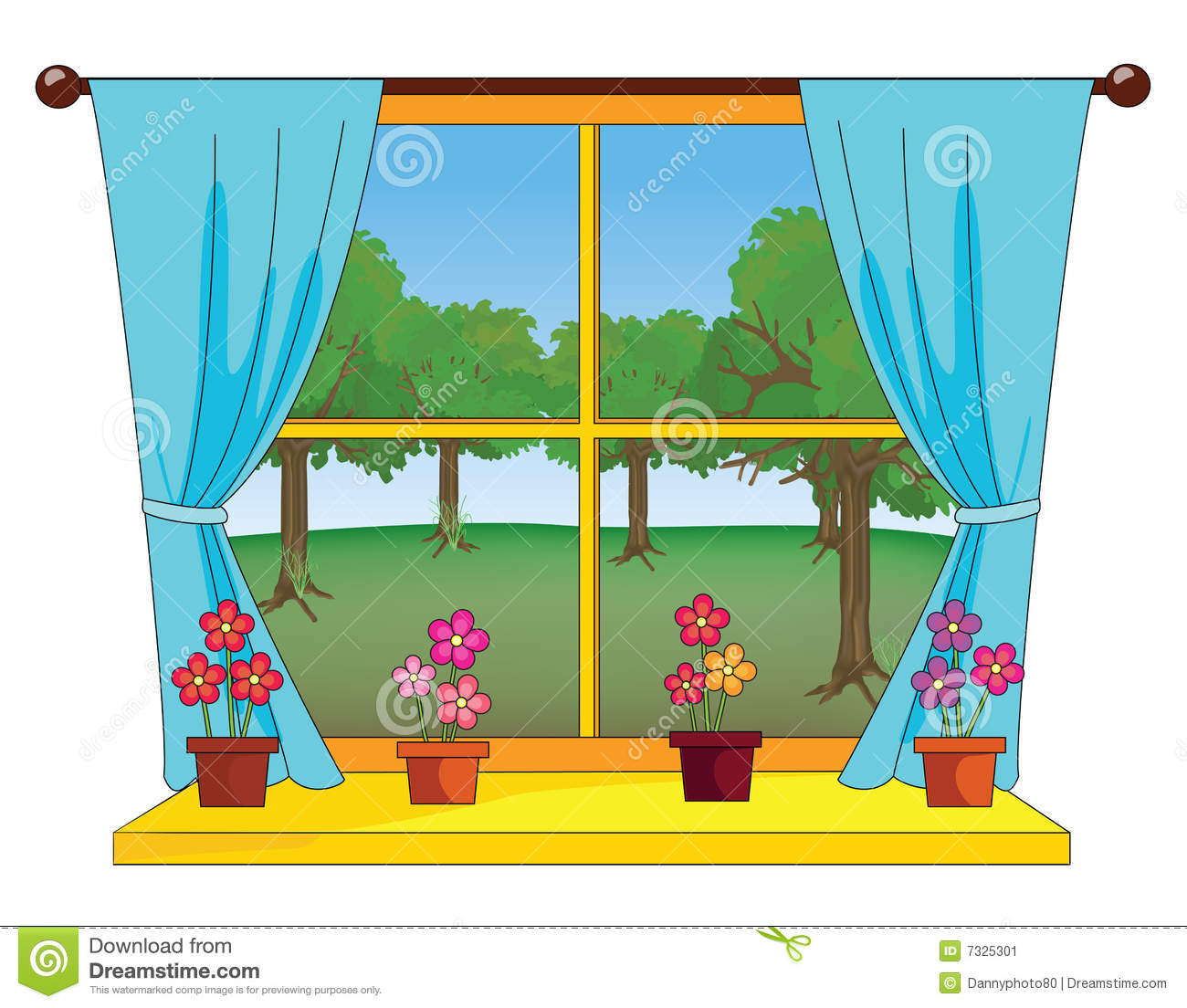 View clipart picture freeuse View through a window | Clipart Panda - Free Clipart Images picture freeuse