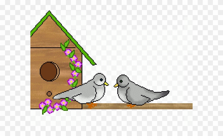 Clipart view of houses from helicopter clip art transparent Bird House Clipart Little Birdie - Png Download (#2563855) - PinClipart clip art transparent