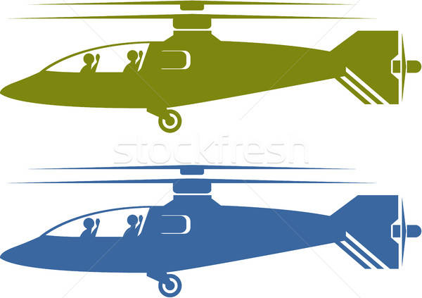 Clipart view of houses from helicopter picture royalty free library Modern helicopters vector illustration clip-art image choppers ... picture royalty free library