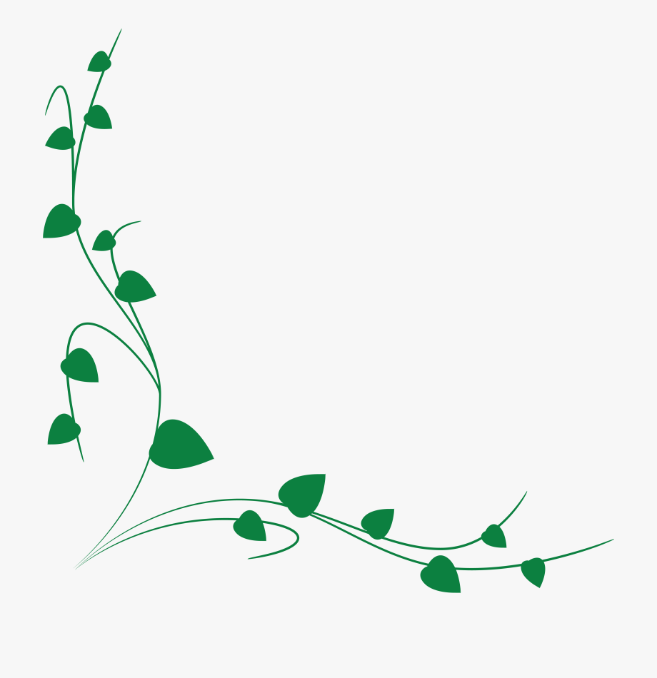 Clipart vine border download Free Clipart Of A Green Vine Border - Green Vine Border Clipart ... download