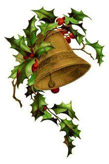 Clipart vintage christmas png transparent Christmas Clipart: Vintage Bells   Christmas   Christmas clipart ... png transparent