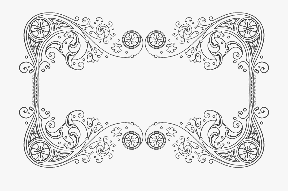 Vintage filigree clipart vector library stock Vintage Lace Clipart - Border Filigree #937978 - Free Cliparts on ... vector library stock