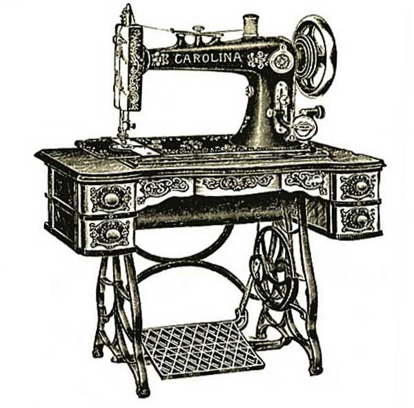 Clipart vintage sewing machine clip free vintage clipart, free clipart, vintage treadle sewing machine ... clip free