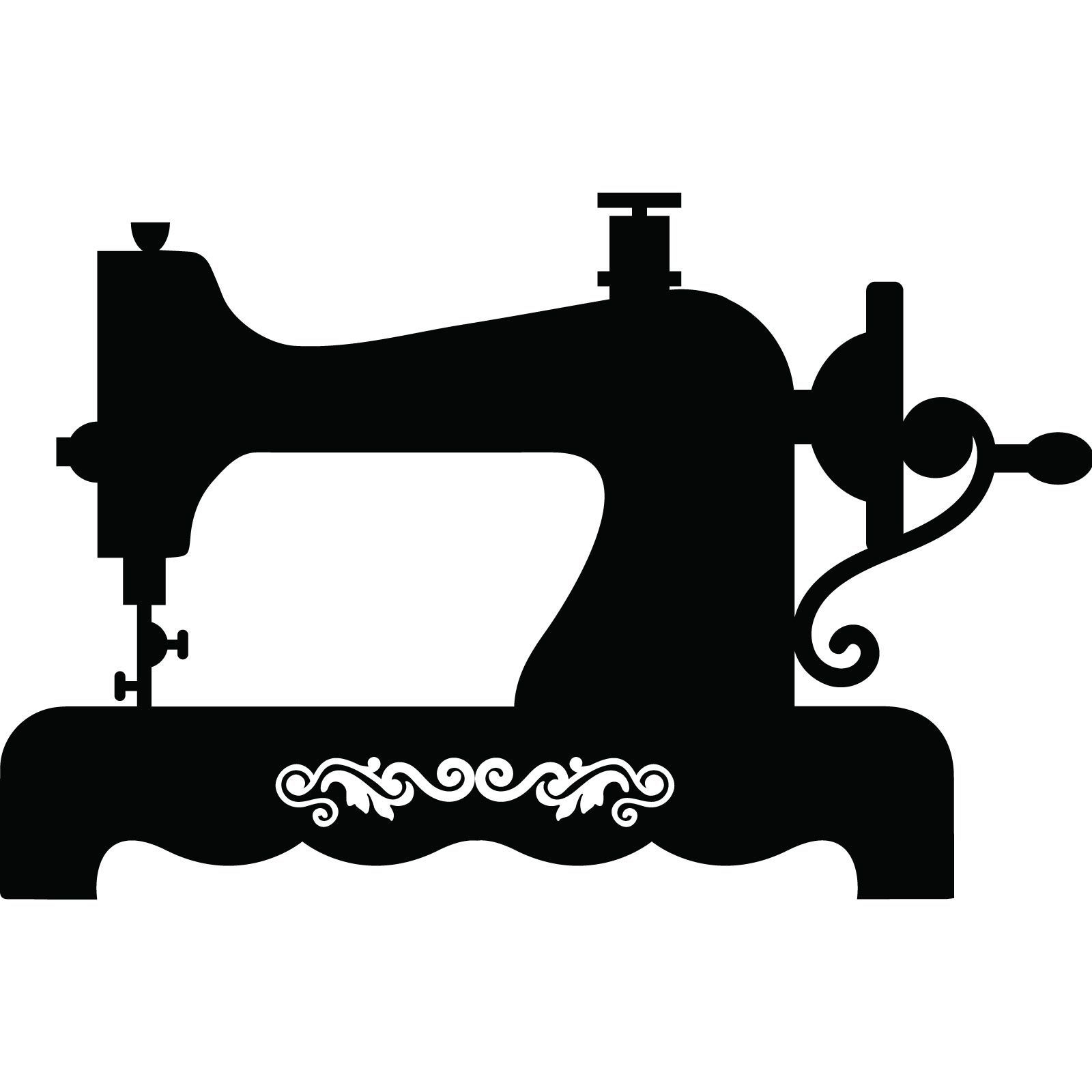 Clipart vintage sewing machine vector free Vintage sewing machine clipart 7 » Clipart Portal vector free