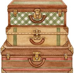 Clipart vintage suitcase svg freeuse library Free Vintage Luggage Cliparts, Download Free Clip Art, Free Clip Art ... svg freeuse library