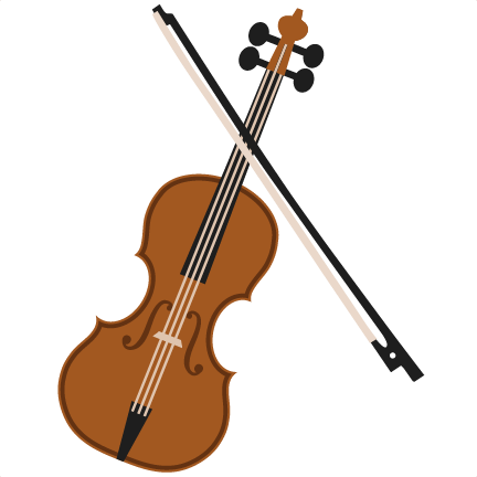Library Of Violin With Cello Whimsical Vector Library