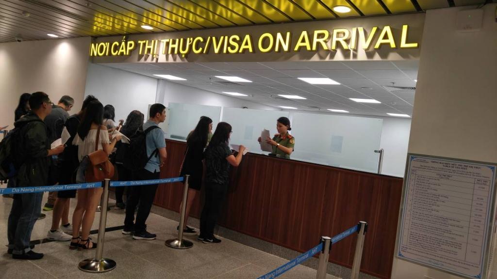 Clipart visa on arrival image transparent download How To Get Visa On Arrival in Da Nang Airport   Vietnam eVisa image transparent download
