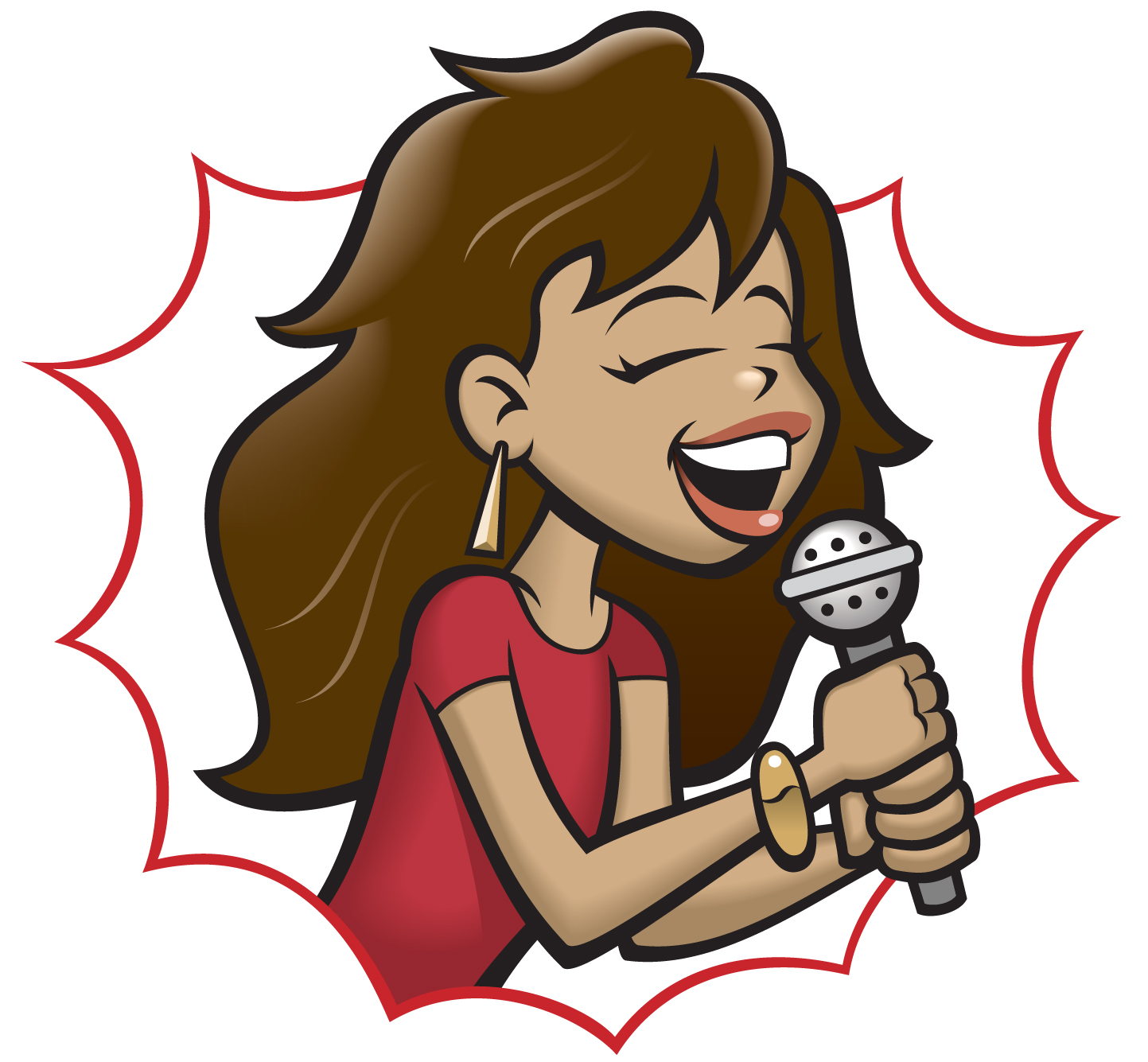 Singers clipart image free Free Karaoke Singer Cliparts, Download Free Clip Art, Free Clip Art ... image free