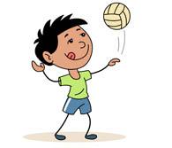 Clipart volleyball kostenlos graphic free download Free Sports - Volleyball Clipart - Clip Art Pictures - Graphics ... graphic free download