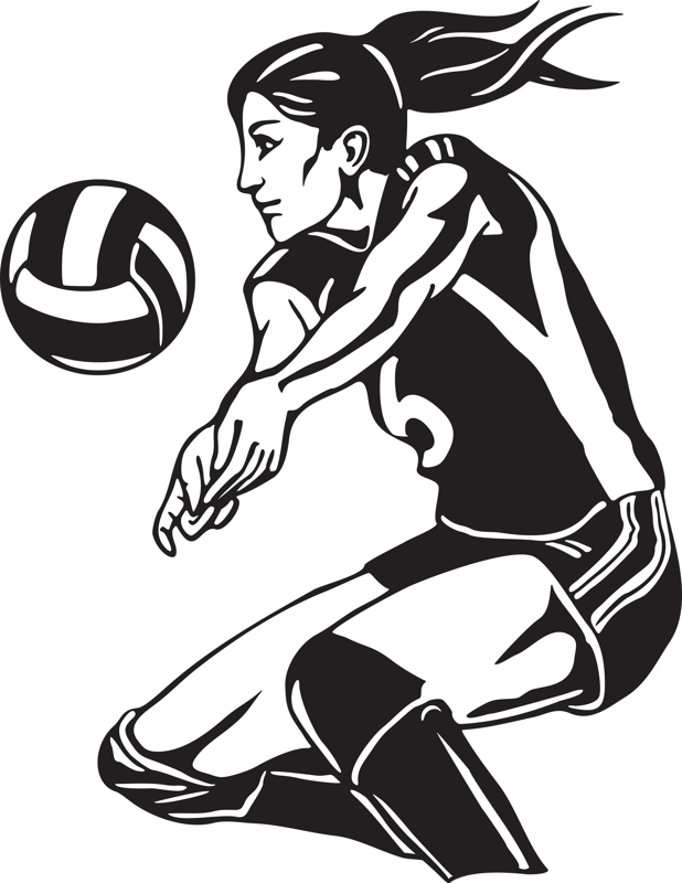 Volley clipart image freeuse stock Winchester Schools - 2017 West Central Cougars\' Volleyball Schedule image freeuse stock