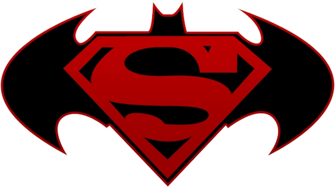 Clipart vs superman banner black and white stock Batman vs superman clipart - ClipartFest banner black and white stock