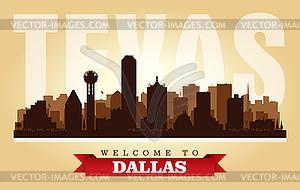 Clipart vs texas city clipart freeuse download Dallas Texas city skyline silhouette - vector clipart clipart freeuse download