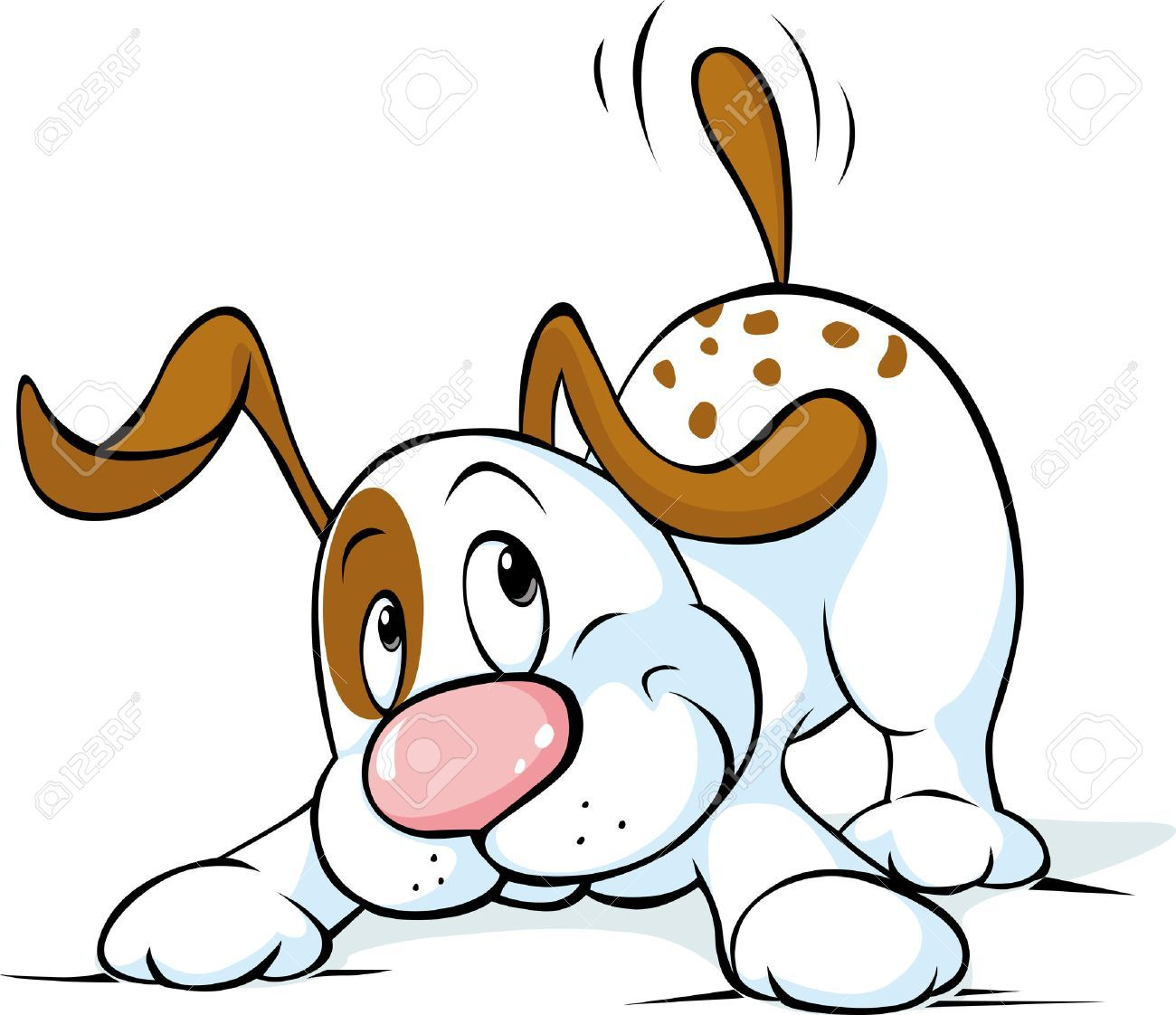 Clipart wagging jpg Dog wagging tail clipart 6 » Clipart Portal jpg