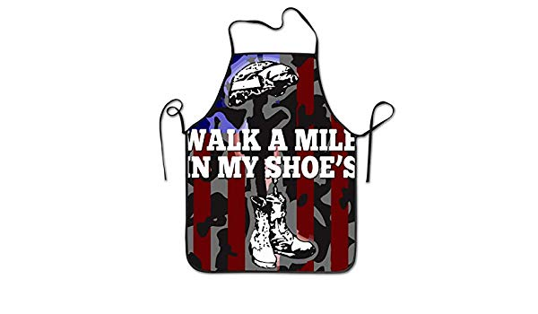 Clipart walk a mile in my shoes graphic stock Amazon.com: Walk A Mile in My Shoes Kitchen Cooking Cleaning ... graphic stock