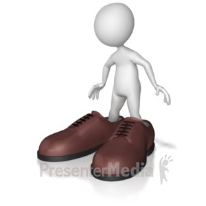 Clipart walk a mile in my shoes image royalty free stock PresenterMedia - PowerPoint Templates, 3D Animations and Clipart image royalty free stock