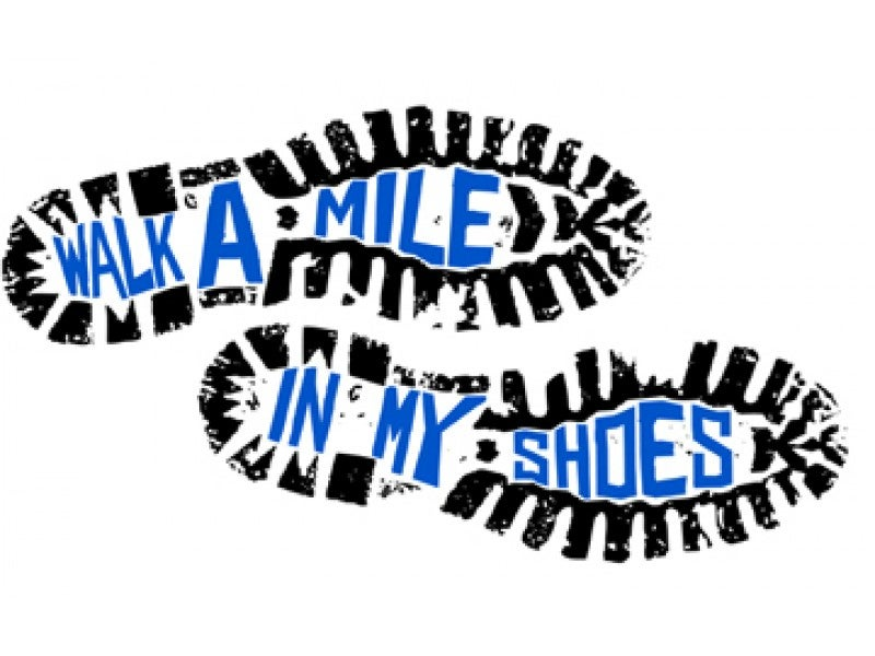 Clipart walk a mile in my shoes png download Walk a Mile in My Shoes Collection | Dearborn, MI Patch png download