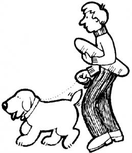 Clipart walk the dog jpg transparent stock Walk The Dog Clip Art Download jpg transparent stock