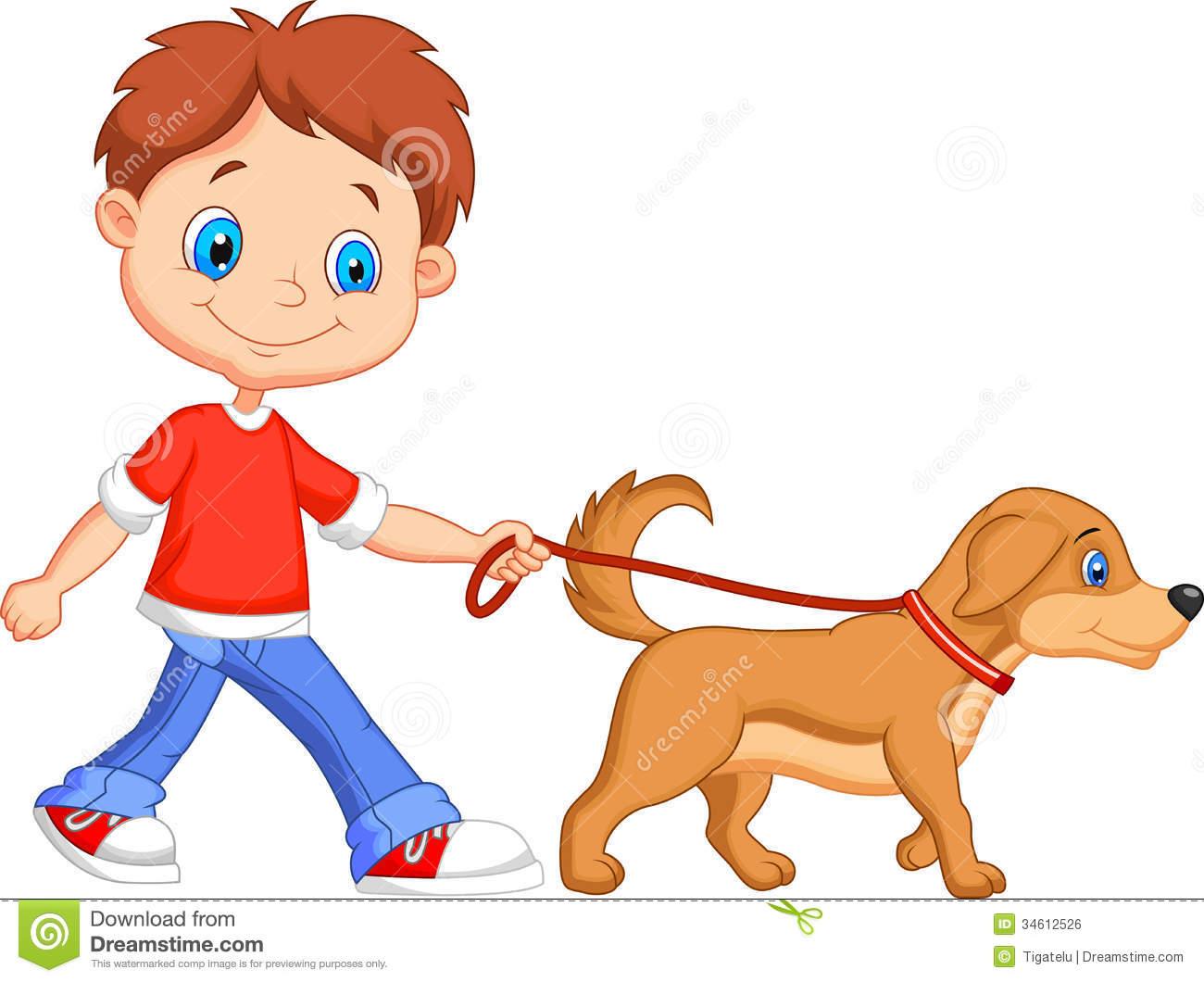 Clipart walk the dog clip art transparent Dog- Walking Clipart - Clipart Kid clip art transparent
