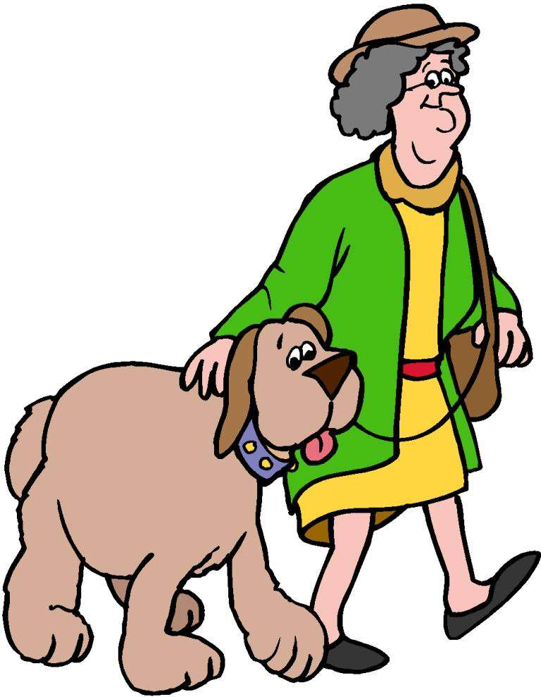 Walking graphics and animated. Clipart walk the dog