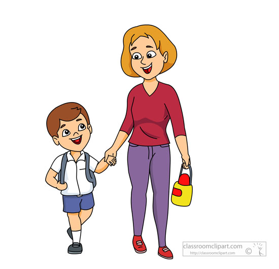 Clipart walkers from school image black and white stock Clipart walkers from school - ClipartNinja image black and white stock