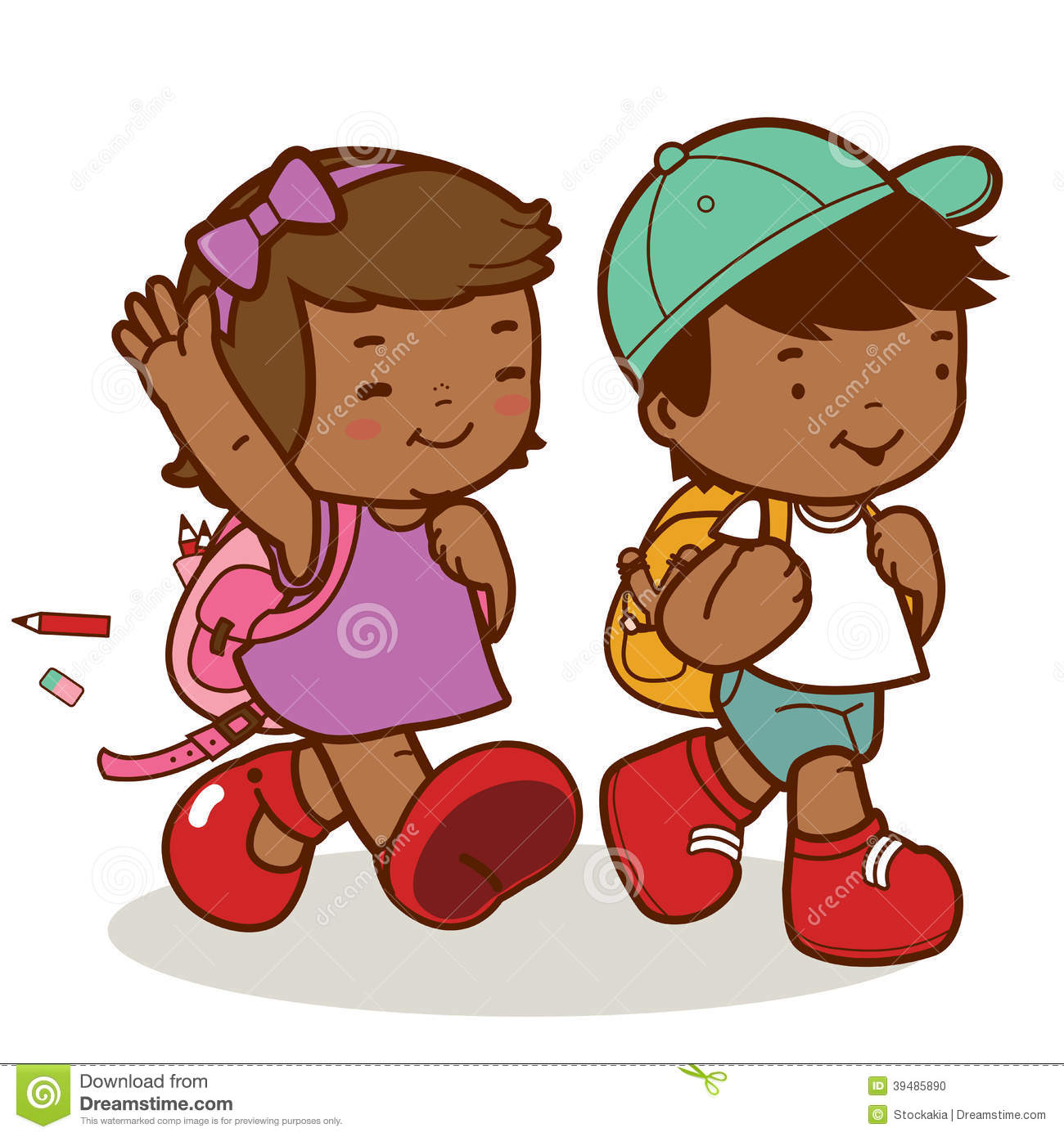 Clipart walkers from school clipart royalty free Boy and girl walker clipart - ClipartFest clipart royalty free